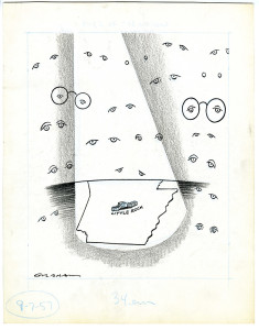 "Image of the cartoon ""eyes of the nation"" by Bill Graham"