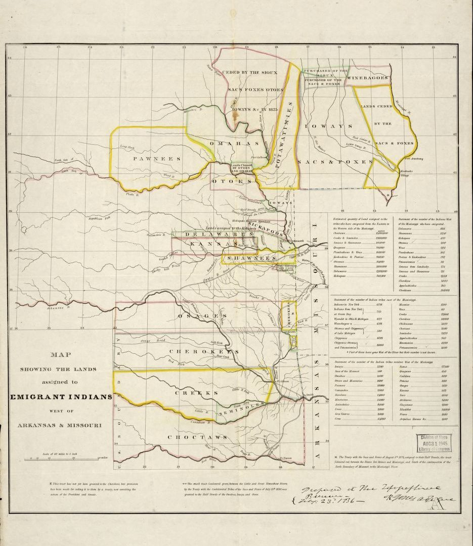 American Indian Removal - Arkansas Primary Source Sets