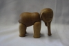 Wooden elephant, part of Winthrop Rockefeller's collection of elephants (wr-191)