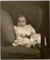 Childhood: Winthrop Rockefeller, newborn (ualr-ms-0001_07_01_pho0283)