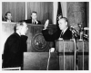 Governor of Arkansas: Winthrop Rockefeller takes the oath of office after winning the 1966 election (ualr-ms-0001_07_07_in_07_unp_pho01)