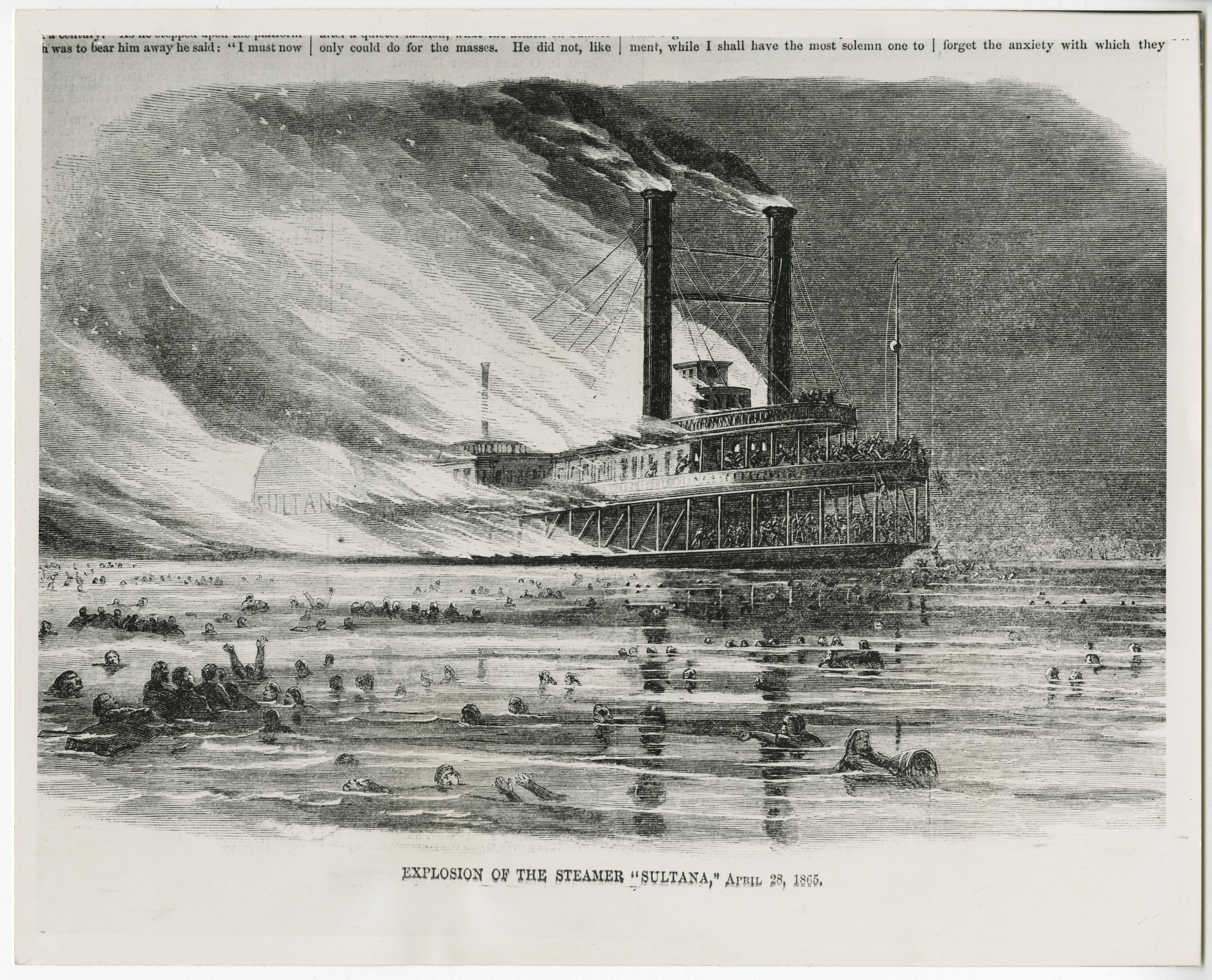 Sultana: Greatest Maritime Tragedy in United States History
