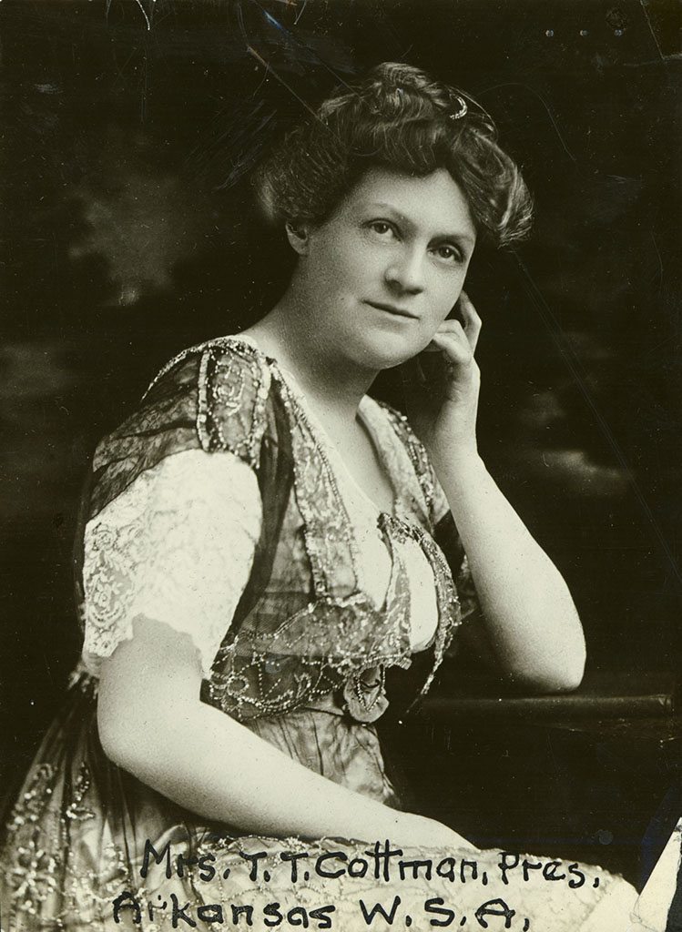 Mrs. T.T. Cotnam (Florence Cotnam), President of Arkansas W.S.A.