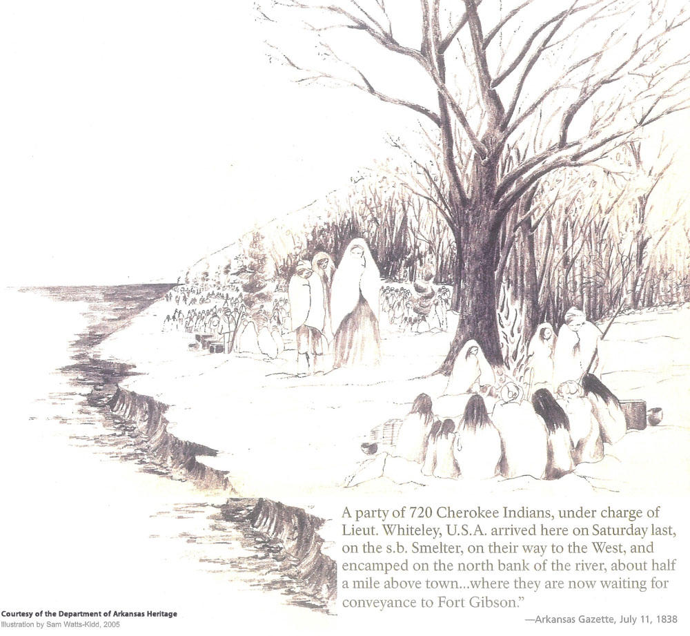 North Little Rock sketch