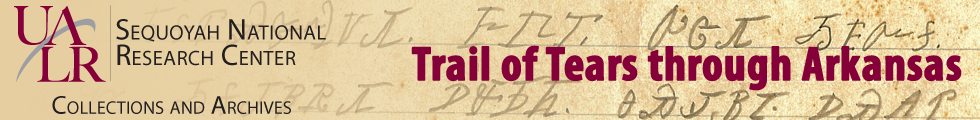 The Trail of Tears through Arkansas