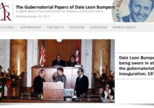 Screenshot of Dale Bumpers exhibit