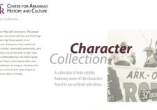 Screenshot of Character Collection exhibit