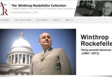 Screenshot of Wintrhop Rockfeller exhibit