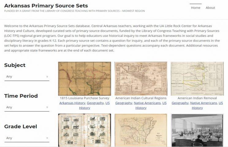 Arkansas Primary Source Set