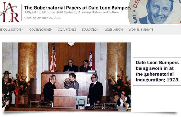 Dale Bumpers Gubernatorial Papers