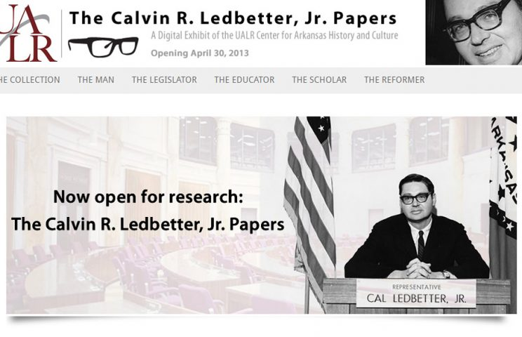 Calvin R. Ledbetter, Jr. Papers