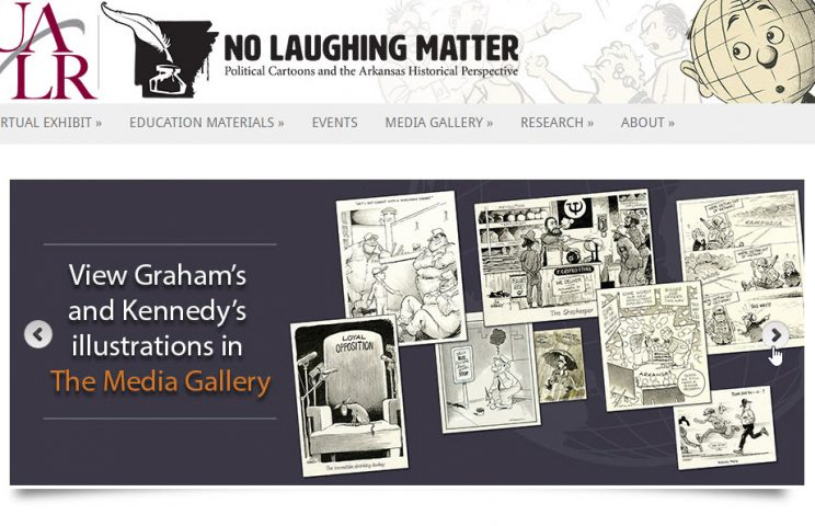 No Laughing Matter: Political Cartoons and the Arkansas Historical Perspective