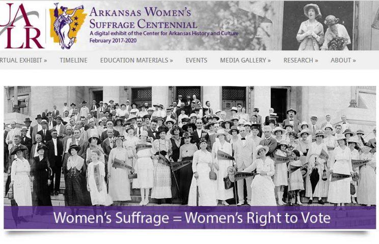 Arkansas Women's Suffrage Centennial