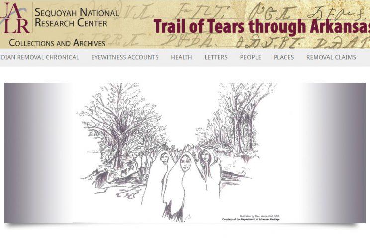 Trail of Tears through Arkansas