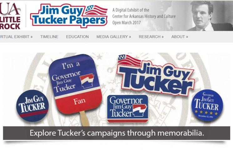 Jim Guy Tucker Papers